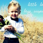 Little Lady Lace Suspenders