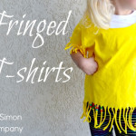 Fringed and Slashed T-Shirts for $5 Friday