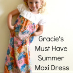 Gracie's Must Have Summer Maxi Dress Tutorial