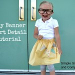 Easy Skirt Banner Tutorial and Riley Blake Giveaway!