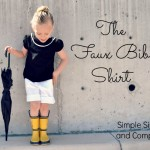 Spring Look Book: The Faux Bib Shirt. A Tutorial.