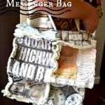 A Field Journal and Messenger Bag Tutorials
