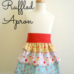 Girls Ruffled Apron Tutorial