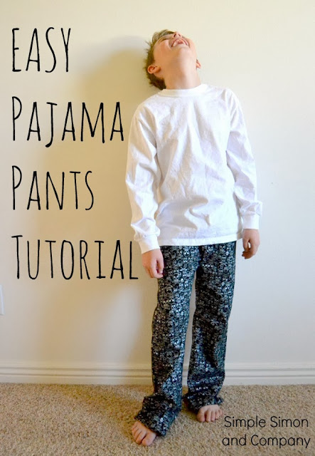 How to make a Pajama Pants PATTERN from Jeans—An EASY Tutorial