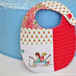 $5 Friday—Handmade Baby Bibs {Quilt-as-you-go}