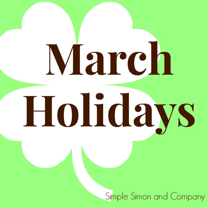 March Holidays Image