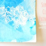$5 Friday: Summer Cloud Paintings
