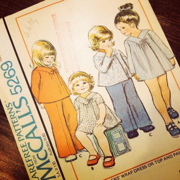 Vintage McCalls 5269 pattern