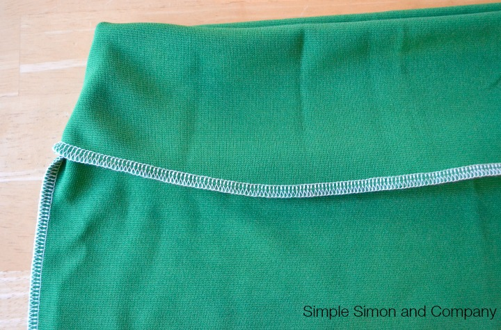 Knit Pencil Skirt Tutorial Step 9