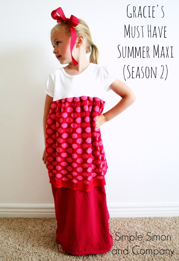 Summer Must Haves: Gracie's Must Have Summer Maxi Dress (Season 2)