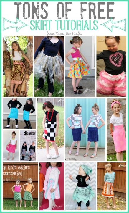 Skirting the Issue with Sugar Bee Crafts & A Rag Bag Tutorial