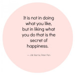 The Art of Homemaking….on liking what you do.