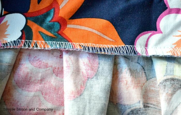 Pleated Skirt Step 4