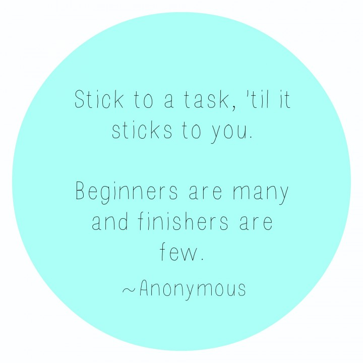 stick to it quote