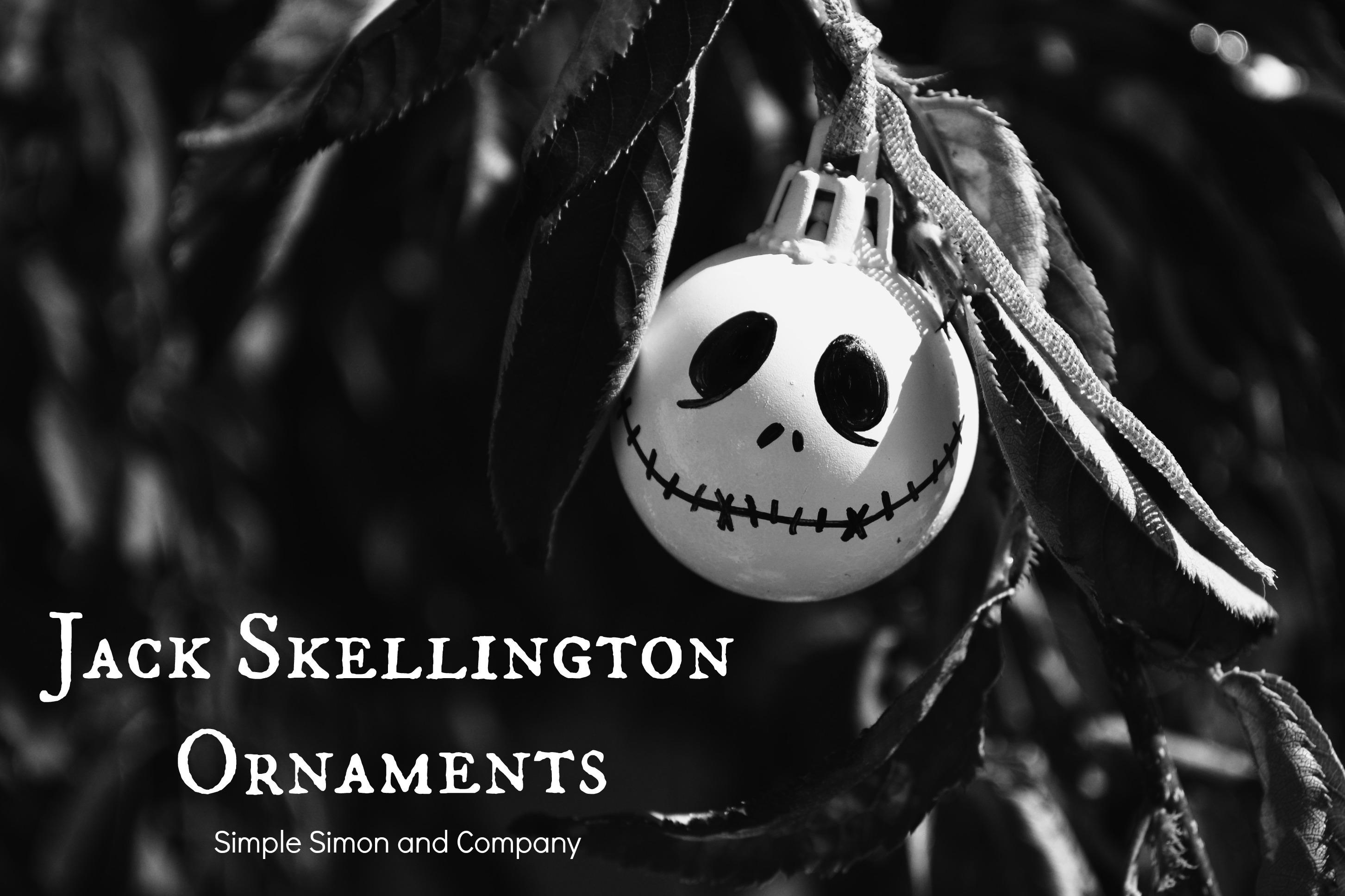 Nightmare before christmas inspired halloween decorations - Jack skellington christmas decorations ...