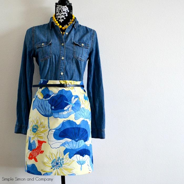 Koi Skirt full body