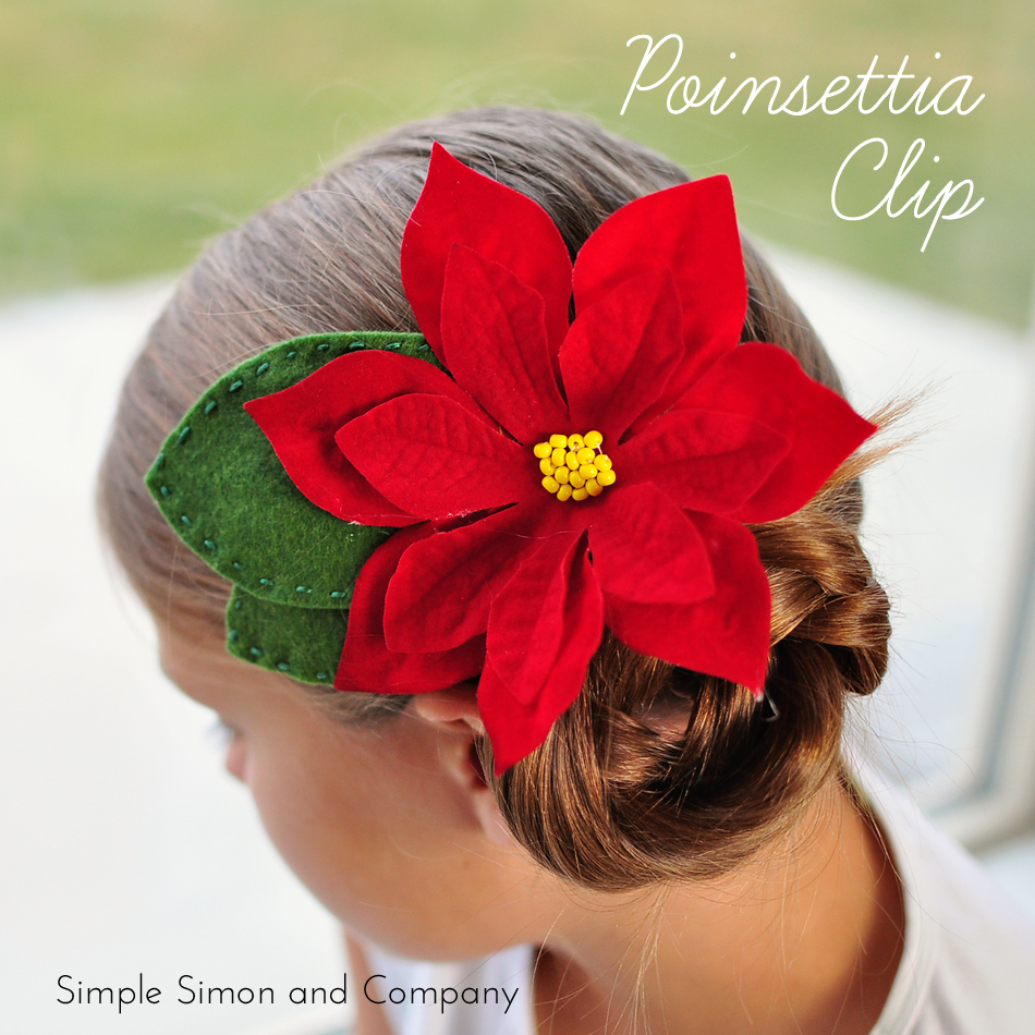 Poinsettia Clip Tutorial U Create