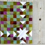 A Free Sawtooth Sunburst Quilt Top Pattern