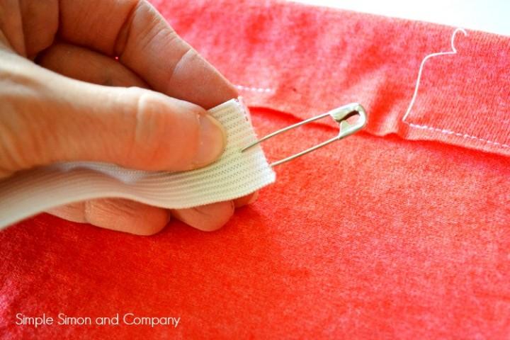 Tshirt Skirt Tutorial Step 4