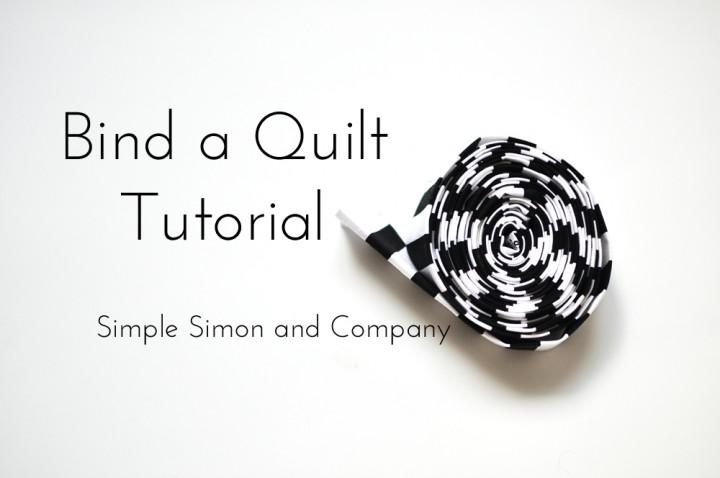 bind a quilt tutoiral