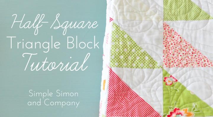 half square triangle tutorial
