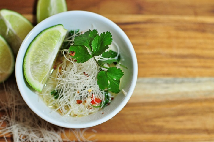 Thai Chicken Noodle Soup Recipe - Simple Simon and Company