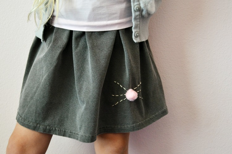 Bunny Nose Skirt Tutorial
