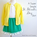 Super Simple St. Patrick's Day Skirts