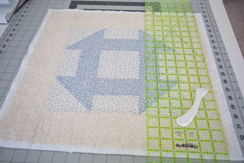 A Churndash Quilt Block The Easy Way Simple Simon And