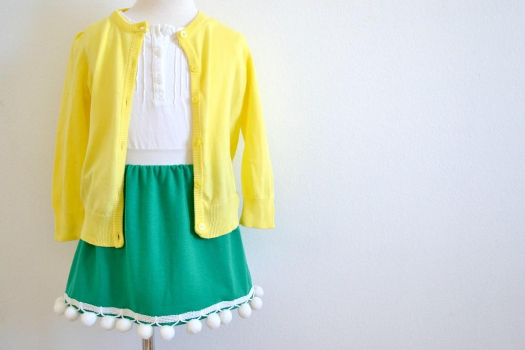 st patricks skirt