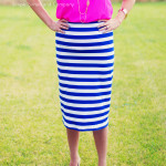 Knit Pencil Skirt Tutorial–Midi Length