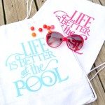 DIY Pool Bags and a Vinyl Expressions Giveaway!!!