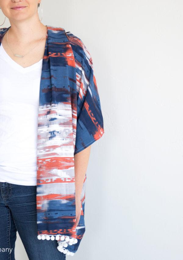 Easy Kimono Cardigan Tutorial