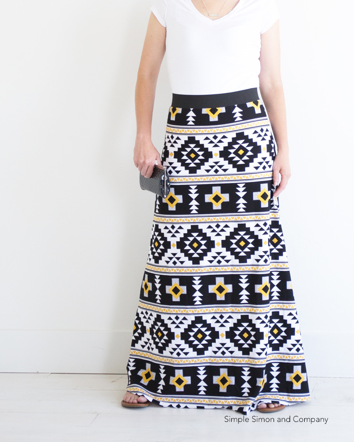 Simple Skirt Pattern Free 108