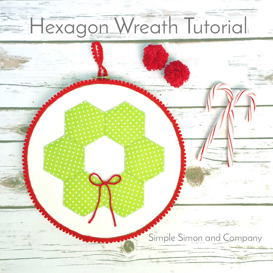 Hexagon Wreath Tutorial