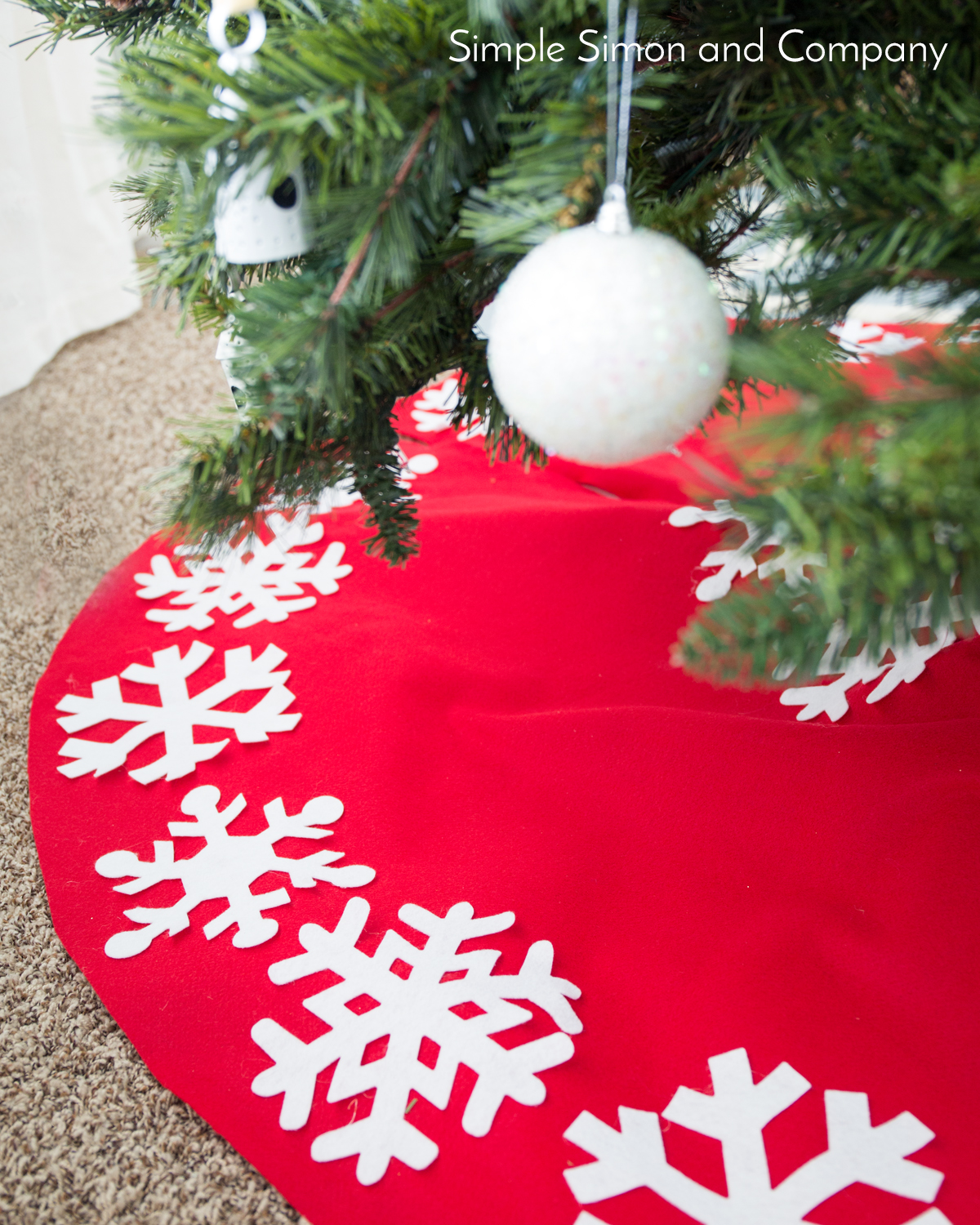 60 Inch Christmas Tree Skirts | Home Decorating, Interior Design ...