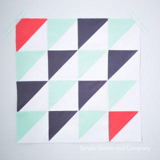 HST January quilt block
