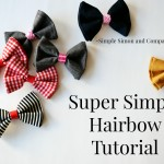 DIY Hairbow Tutorial (With Disney Princess and Villian Inspired Styles)