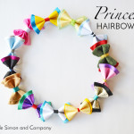 Disney Princess (and Villian) Inspired Hair Bows