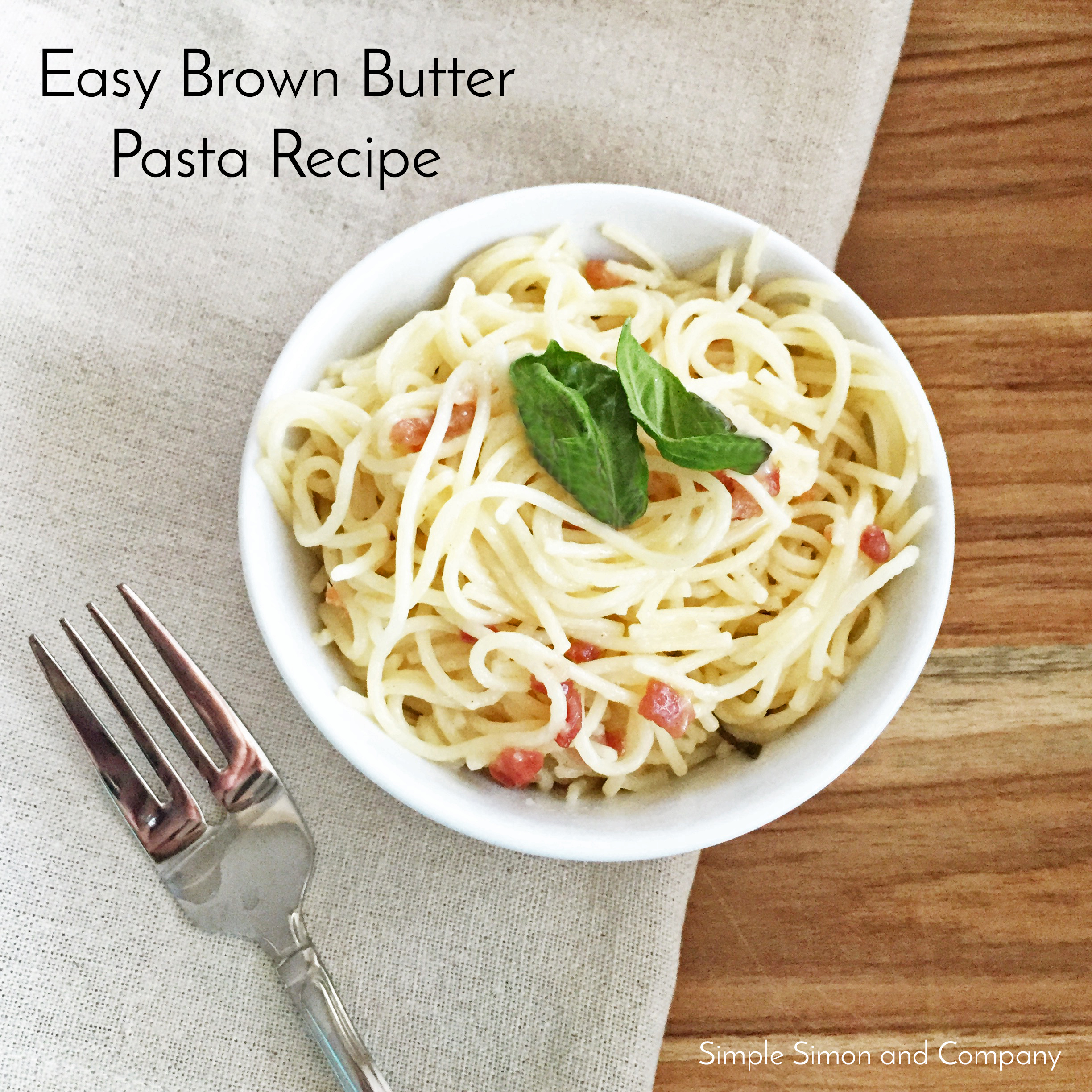 Kabocha Browned Butter Pasta Recipe — Dishmaps