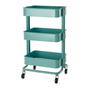 IKEA raskog-utility-cart-turquoise