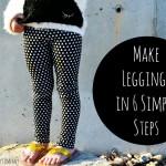 Easy Leggings Tutorial
