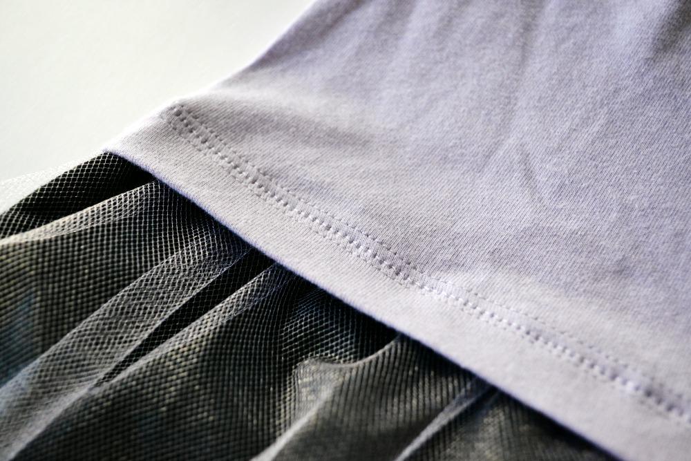 Sweatshirt to Dress long sleeve shirt stitch