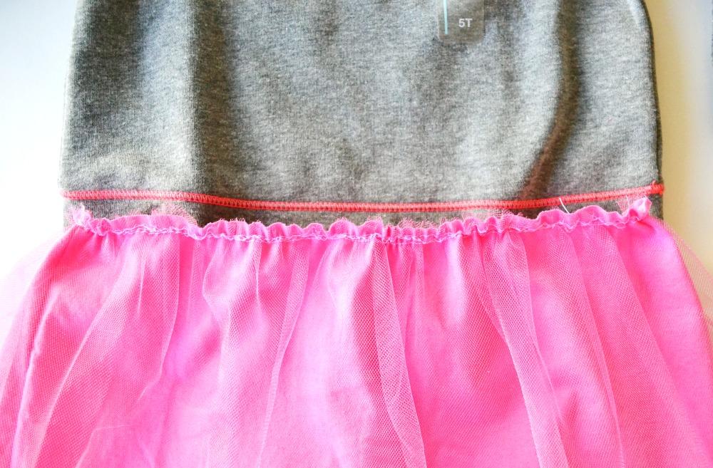 Sweatshirt to Dress step 5