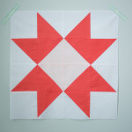 Quilt Block of the Month:The Ribbon Star Quilt Block Tutorial