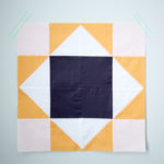 May's Quilt Block of the Month–King's Court Quilt Block Tutorial