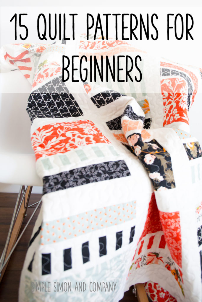 15 Quilt Patterns for Beginners