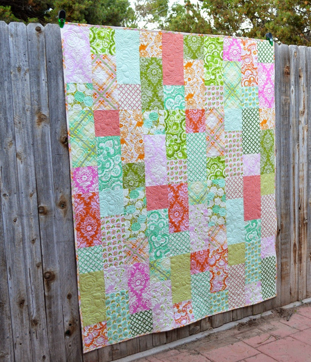 Easy Quilt Patterns Using Precuts : 15 Free Quilt Patterns that Use Precuts! - Simple Simon and Company