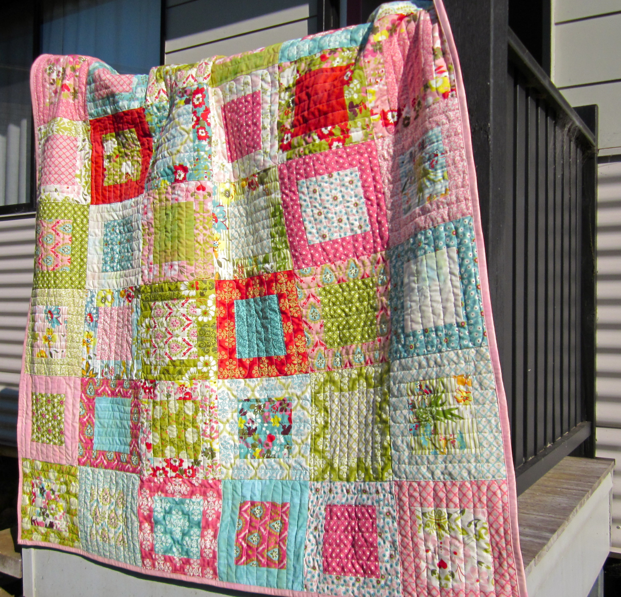 15 Free Quilt Patterns that Use Precuts! - Simple Simon ...