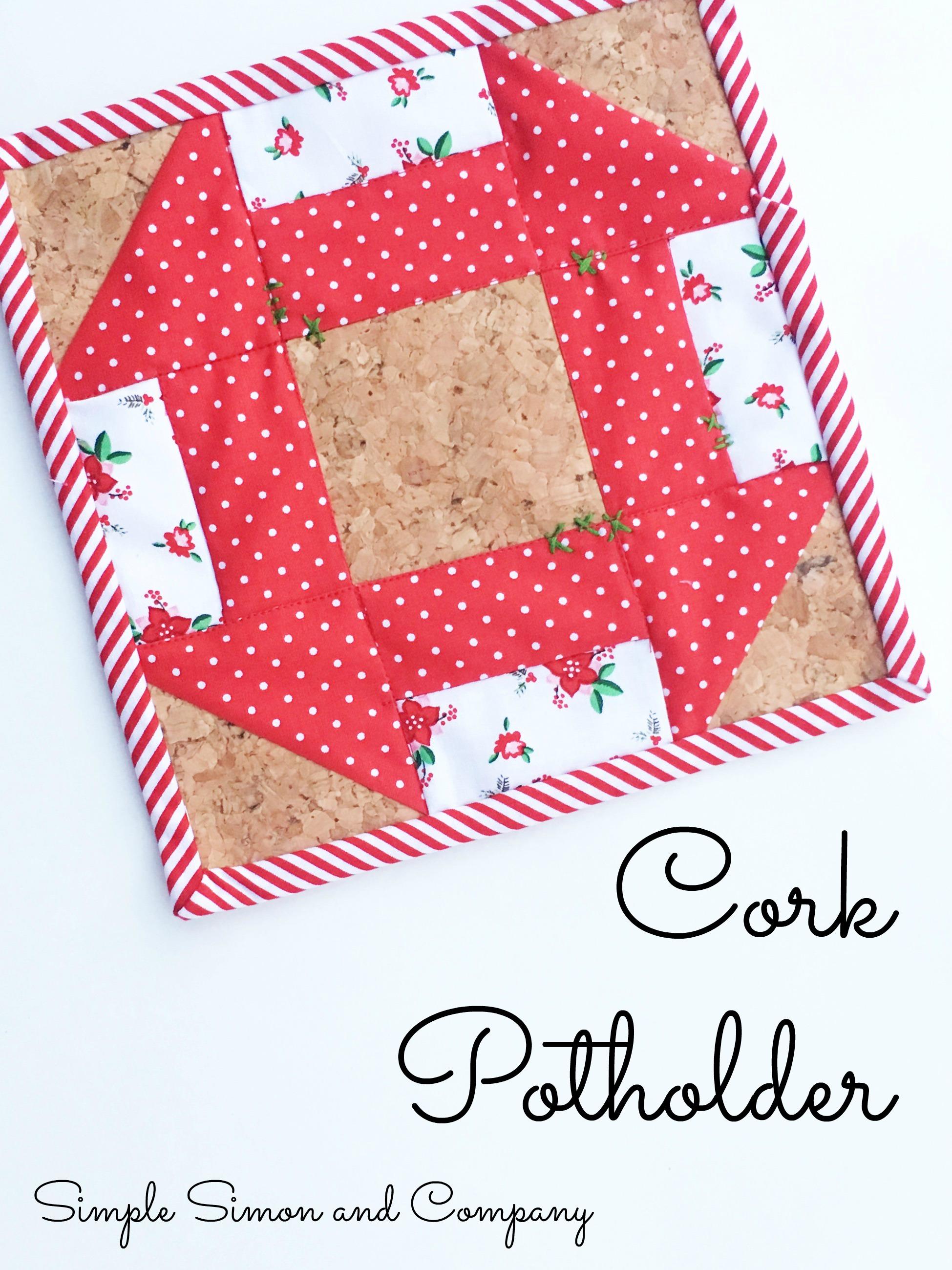 Cork Churndash Potholder